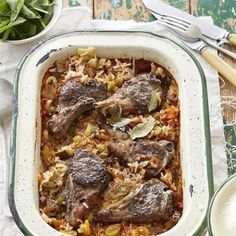 Ditch the New Year's diet and sink your teeth into these moreish meals. Easy Weekday Meals, Quick Meals, No Cook Meals, Baked Lamb Chops, Vegetable Snacks, Oven Dishes, Lamb Dishes, South African Recipes, Pot Roast Recipes