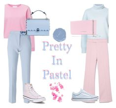 """""""Pretty in pastel"""" by malusherwood ❤ liked on Polyvore featuring Miss Selfridge, Nili Lotan, Isabel Marant, Victoria, Victoria Beckham, Converse, Vans, Fendi, Givenchy, contest and pastel"""