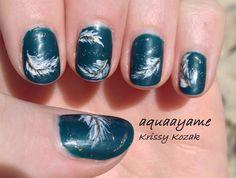 Feathers! #nail #nails #nailart