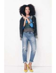 Solange Knowles' Full Campaign for Madewell, Right This Way