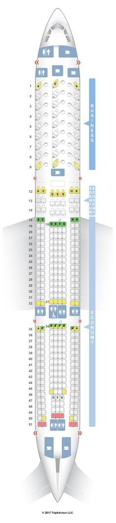 Air Canada 333 Seat Map Pinterest   Chile