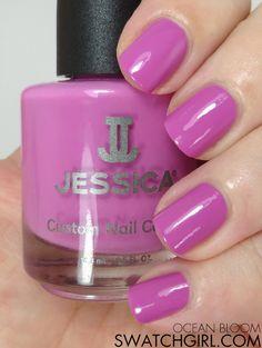 swatchgirl.com - Jessica Ocean Bloom #nailpolish
