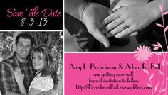 My save the date #wedding