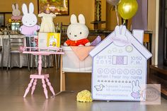 Oh, what a treat we have for you today! My seven year old self is giddy with joy because Party Deco sent in a pretty sweet old school party that I am very much sure you'll totally love!Miffy, the adorable bunny that warmed every little girl's heart back in the day, is here to celebrate…