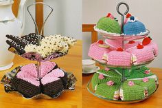 Crochet Food, Diy Crochet, Play Food, Some Ideas, Chrochet, No Bake Cake, Diy Tutorial, Diy Crafts, Sewing