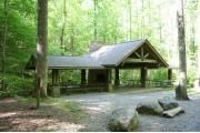 Greenbrier Picnic Pavilion, 12 tables, peaceful and secluded area, Great Smoky Mountains National Park, TN