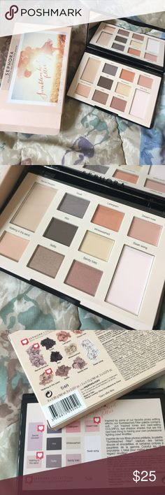 Sephora 🎨 Sephora CLOLORFUL EYESHADOW FILTER PALETTE. Brand new and authentic . No lowest due from posh fee 20% . No trade and price is firm . Sephora Makeup Eyeshadow
