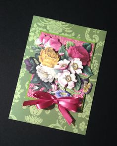 Feminine All Occasion Card with Roses and Other Florals