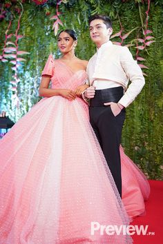 Abs-cbn Ball Gallery Part 3 Debut Dresses, Nice Dresses, Formal Dresses, Ariella Arida, Scarlet Snow, Joshua Garcia, Bea Alonzo, Filipiniana Dress, Pink Blood
