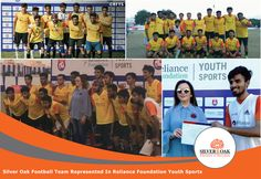 Silver Oak Group of institutes is reaching for the skies! The football team represented Silver Oak Group of institutes at the recent event conducted by the Reliance Foundation Youth Sports. To participate in a competition at this level in itself is a big win for us! Kudos to Jainam Suthar (Goalkeeper) who was rewarded as the Man of the Match by the hands of Founder and Chairman of Reliance Foundation Mrs. Nita Ambani. #Reliance #YouthSports #FootballTeam #SilverOak #ManOfTheMatch #Glimpses