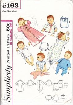 Vintage Sewing Pattern for Sewing Complete by ilovevintagestuff