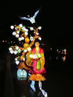 Magie des lanternes, Jardin botanique de Montréal, 2012 Gardens, Chinese Lanterns, Taper Candles