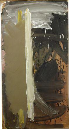 Agosto de 1986, pintando en Alcalá de Henares
