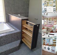 10 Ingenious Ideas to Use Walls for Storage - http://www.amazinginteriordesign.com/10-ingenious-ideas-use-walls-storage/
