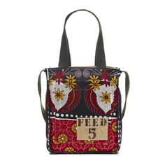 FEED 5 Africa Bag Red Yellow, $100, now featured on Fab.