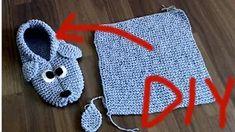 YouTube Crochet Baby Boy Hat, Crochet Baby Sweaters, Crochet Hats, Knitted Booties, Crochet Slippers, Baby Booties, Poncho Knitting Patterns, Knitting Socks, Baby Knitting