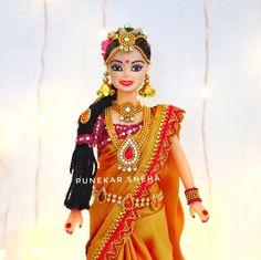 Doll decoration ideas | Doll decoration with clothes | indo Western doll dress making |Punekar Sneha Doll Makeup, Creative Crafts, Dress Making, Making Ideas, Barbie Dolls, Westerns, Princess Zelda, Wonder Woman, Superhero