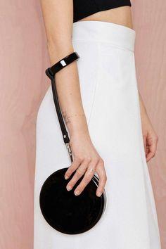 Nasty Gal x Nila Anthony Cute as a Button Wristlet Clutch - Shop All Fashion Bags, Fashion Backpack, India Fashion, Japan Fashion, Fashion Handbags, Wedding Clutch, Bridal Clutch, Wedding Dress, Clutch Wallet