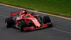 Sebastian Vettel Ferrari SF-71H qualifying at Australian Grand Prix, Melbourne - Saturday 24 March 2018