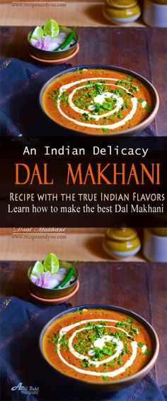 Dal Makhani Indian Food Recipes, Asian Recipes, Top Recipes, Easy Recipes, Around The World Food, Vegetarian Main Dishes, Lentil Recipes, Exotic Food, Kitchens