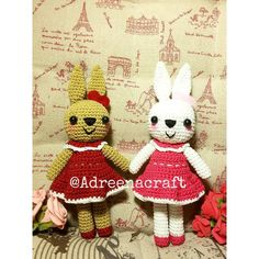 The Power of Friendship  NOW AVAILABLE TO ORDER!! Dressed Bunny  Aren't they so lovable?  Wanna adopt them? Please contact us based on our bio   We will serve you with the best handmade that we can make  #amigurumi #crochetdoll #bunny #bunnies #rabbit #crochetaddict #lovable #handmade #handicraft #craft #sanrio #crochet #crocheting #crocheters #adreenacraft #semarang #indonesia #exploresemarang #exploreindonesia #jualonline #infosmg #madewithlove #followme by adreenacraft