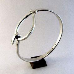 handforged sterling silver jewellery by C. G. Whitfield #SterlingSilverJewellery