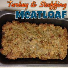 EmilyCanBake: Turkey And Stuffing Meatloaf