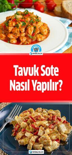 #tavuk #sote #et #tavuketi #yemek #yemektarifi #yemektarifleri #yemekler #tarif #tarifdefteri #tarifler #kolay #evyemegi #evyapımı #bilgi #pratik #fikir #mutfak #idea #ideas #like #lifestyle #fresh #kitchen #recipe #recipes #cookie #cook #dinner #food @faydalibilgin Cooking Recipes, Chicken, Tiramisu, Drinks, Food, Drinking, Beverages, Chef Recipes, Essen