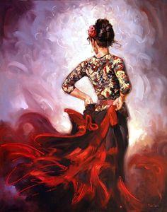 Mark Spain - beautiful lady portrait