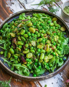 Bean Salad Recipes, Veggie Recipes, New Recipes, Vegetarian Recipes, Cooking Recipes, Healthy Recipes, Green Vegetable Recipes, Beans Recipes, Dinner Recipes