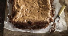 Vegan Chocolate and Tahini Brownies