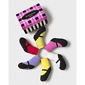 Trumpette Infant Girls' 6 Pairs of Mary Jane Bright Socks