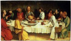 Last Supper (Coburg Panel) Matthias Grünewald. Gospel Reading For Today, Lucas Cranach, Renaissance Artists, The Cross Of Christ, Last Supper, John The Baptist, Art Database, Great Artists, Museum