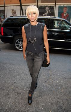 Keri Hilson spotted wearing a rare Gaultier necklace
