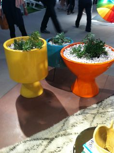 Colorful Planters from Jonathan Adler--or DIY from KDub