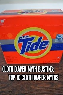 Cloth Diaper Myth Busting: The Top 10 Cloth Diapering Myths  This article is AMAZING!!! I would suggest that anyone who says they can't cloth diaper read this!!!