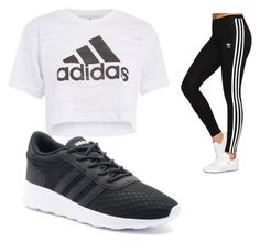 """Adidas"" by ashleejosias23 on Polyvore featuring adidas Originals, Topshop and adidas"