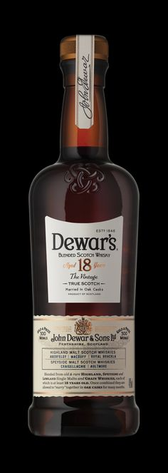 Dewar's Blended Scotch Whisky on Behance