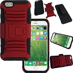 WwWSuppliers Hybrid Shockproof Case for iPhone 6 4.7 inch Belt Clip & Holster Stand Strong Dual Layer Heavy Duty Thin Slim Gel Silicone Rubber Rugged Non Slip Anti-slip Anti-shock Hard Cover + Screen Protector & Stylus (Brick Red) WwWSuppliers http://www.amazon.com/dp/B00NK2FRYO/ref=cm_sw_r_pi_dp_VCF-vb1KP9E7C
