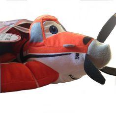 Disney Planes Talking Dusty Crophopper Flying Friends Talking Plush Toy 36cm NEW