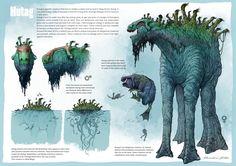 Hutag creature, Edin Durmisevic on ArtStation at https://www.artstation.com/artwork/GEDVB