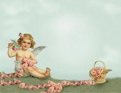 Borboleta Azul: Anjos