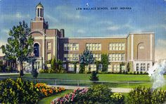 Lew Wallace High School on 45th Ave. in Gary, Indiana