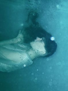 "Anastasia Sokolova ~ ""Water Lily"" underwater photo series (2011) model: Anastasiya Siyanina   makeup: Asha Lukasheva"