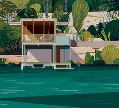 Casa en el Lago, Texas. Image Courtesy of Marie-Laure Cruschi