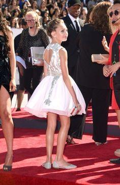 Maggie Ziegler attends the MTV Video Music Awards 2014.