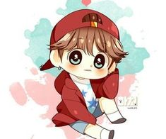 Uploaded by Claudia. Find images and videos about cute, bts and jungkook on We Heart It - the app to get lost in what you love. Jungkook Fanart, Baekhyun Fanart, Jungkook Cute, Kpop Fanart, Bts Chibi, Anime Chibi, Kawaii Anime, Kpop Drawings, Fan Art