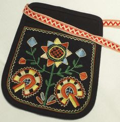 Bag of the Jalasjärvi dress. Finland.