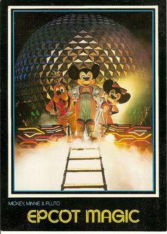Epcot at Walt Disney World Disney Love, Disney Art, Disney Stuff, Disney Theme, Disney Images, Disney Pictures, Walt Disney Imagineering, Museum Poster, Disney Concept Art