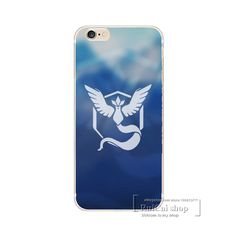 Game Pokemons Go Pokeball Team Valor Team Mystic Team Instinct Soft Silicon Cases TPU Cover For iPhone 5 5S SE 5C 6 6S 7 Plus
